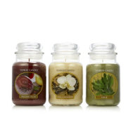 Yankee Candle Set of 3 Country Walk Large Jars