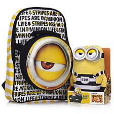 Despicable Me 3 Backpack with Detachable Bag & Jail Minion Plush Toy