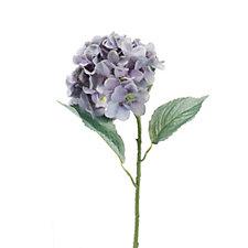 Peony Set of 3 Blue & Grey Classic Hydrangea Stems
