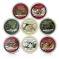 Yankee Candle Set of 8 Festive Scenterpiece Melt Cups