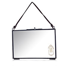 Home Reflections Hanging Glass Memory Photo Frame