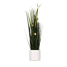 Home Reflections Indoor/Outdoor LED Faux Ornamental Grass