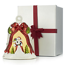 Bella Notte Christmas Bell Luminary in Gift Box