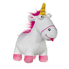 Despicable Me 3 Doodle Large Backpack & Medium Fluffy Unicorn Plush Toy