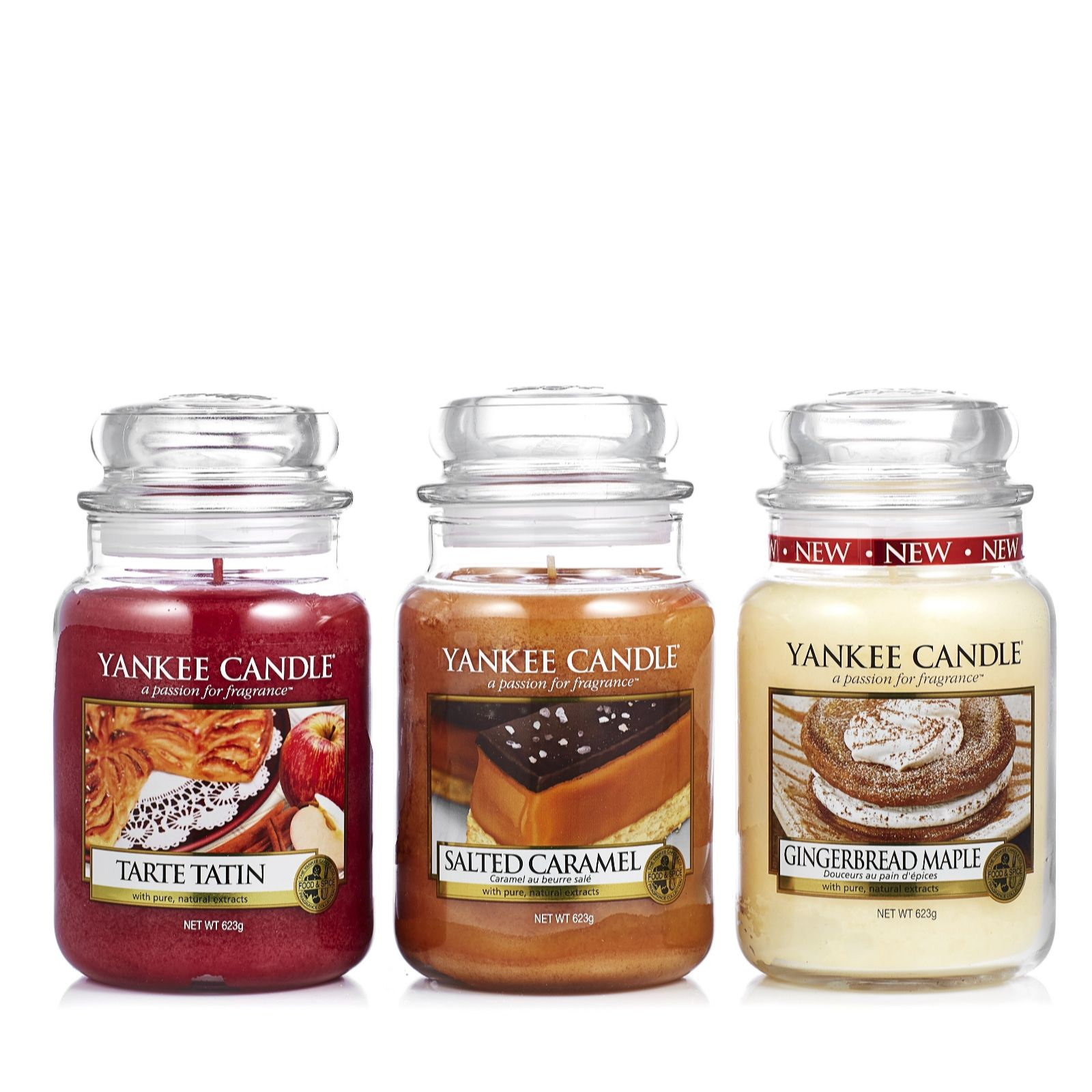 Yankee Candle Set of 3 Sweet Tooth Large Jars