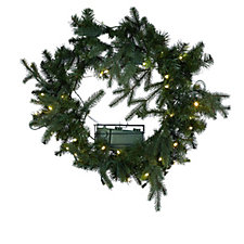 Santa's Best 6 Function 40 Micro LED Greenery Collection