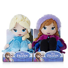 Disney Frozen Set of 2 Anna & Elsa 10