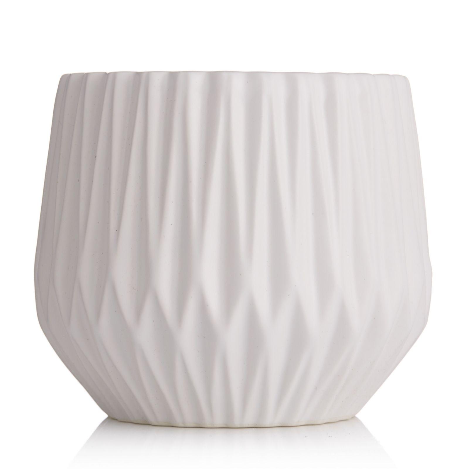 K by kelly hoppen vases home kitchen qvc uk k by kelly hoppen diamond ribbed vase 708133 reviewsmspy