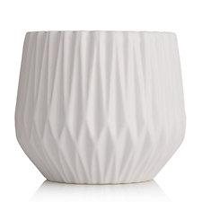 K by Kelly Hoppen Diamond Ribbed Vase