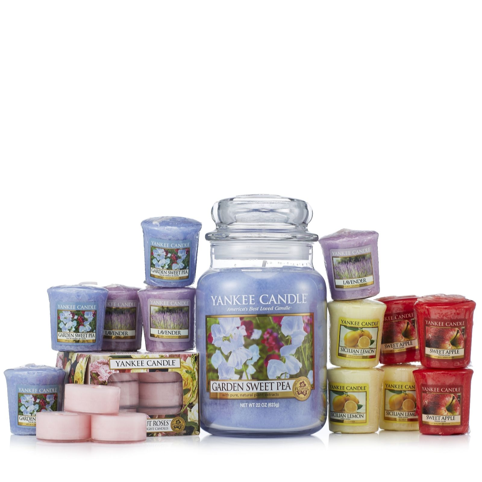 Yankee Candle 25 Piece Garden Fragrance Collection