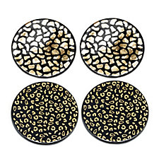 JM by Julien Macdonald Safari Porcelain Coasters
