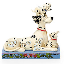 Disney Traditions 101 Dalmations Puppy Love Figurine