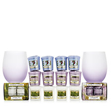 Yankee Candle 38 Piece Tranquillity Votive & T-Light Collection