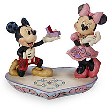 Disney Traditions Mickey & Minnie A Magical Moment Figurine