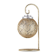 Santa Express Punched Metal Pre-lit Hanging Ornament