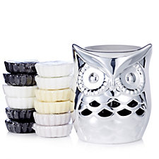 705936 - Yankee Candle Ollie Owl Melt Warmer with 12 Melts