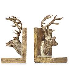 Alison Cork Set of 2 Deer Bookends