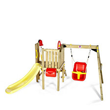 Plum Toddlers Tower Wooden Play Centre