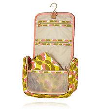 Orla Kiely Oval Flower Hanging Wash Bag & Cosmetic Bag