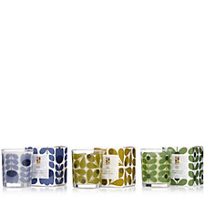 Orla Kiely Set of 3 Travel Candles