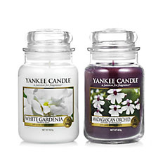 Yankee Candle Set of 2 Floral Favourites Large Jars