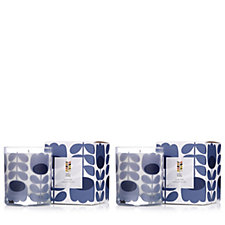 Orla Kiely 200g Lavender Scented Candle Duo