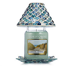 Yankee Candle Fresh Ocean Shade Holder & Large Jar