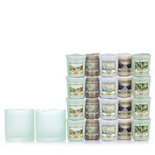 Yankee Candle Fresh Ocean Holders with 20 Votives