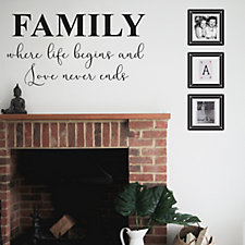 Nutmeg Designs Family Wall Stickers