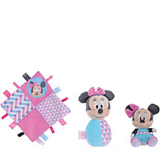 Disney Nursery Collection Comforter,  Rattle & Soft Toy
