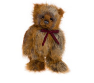 "Charlie Bears Collectable Gingerbread Ted 19.5"" Plush Bear"