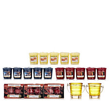 Yankee Candle 53 Piece Pure Essence Autumn T-light & Votive Collection