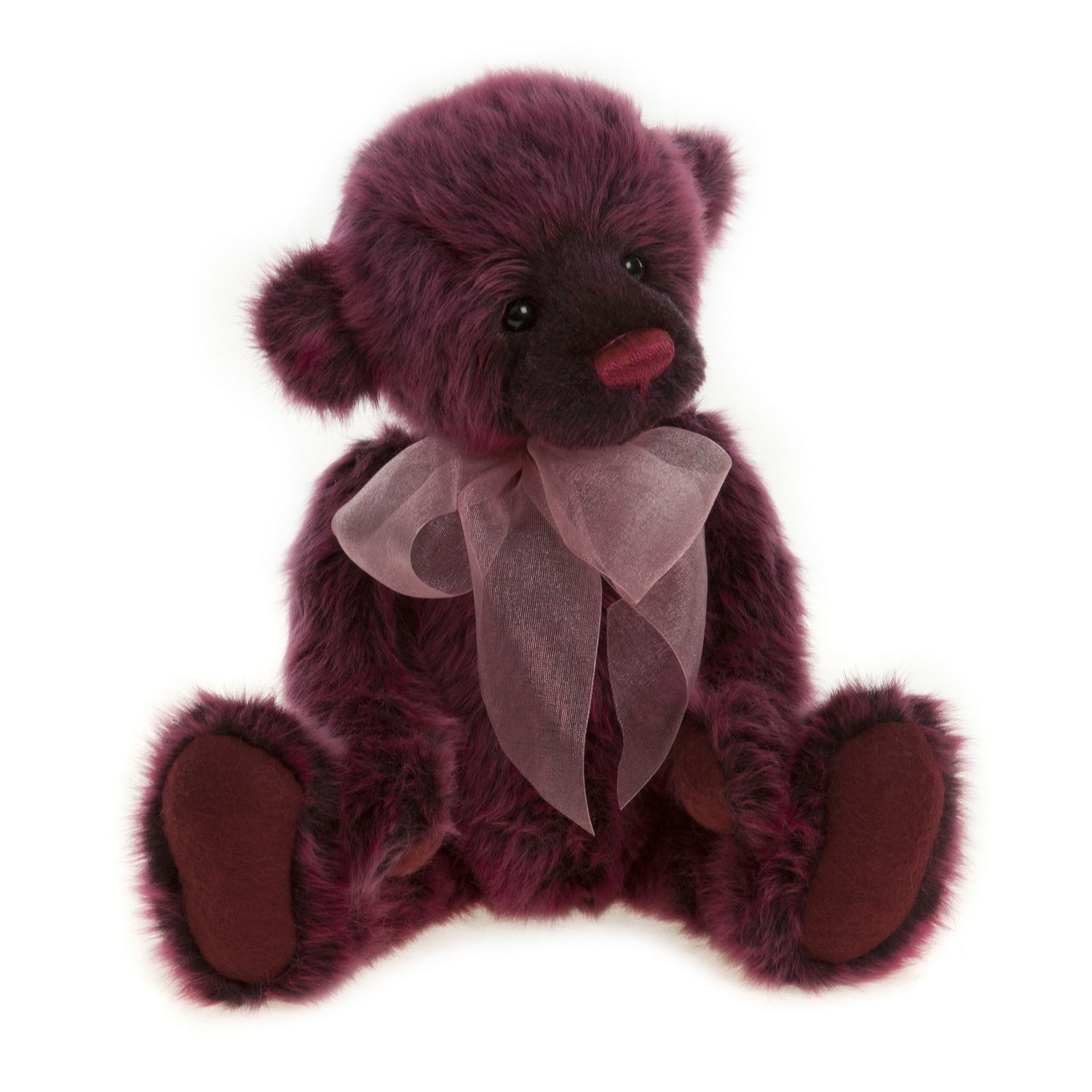 "Charlie Bears Collectable Chelsea 13"" Plush Bear - 704550"