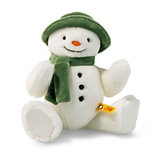 Steiff Jointed Soft Snowman 27cm