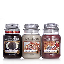 Yankee Candle Set of 3 Cafe Culture Large Jars