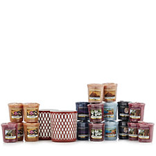 Yankee Candle Terracotta Sanremo Votive Holders with 18 Votives