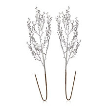 Alison Cork Set of 2 Glitter Branches