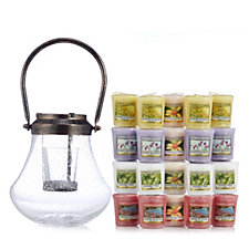 Yankee Candle Lantern with 20 Votives