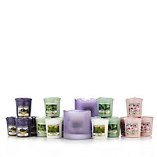 Yankee Candle Purple Tranquillity Holders with 20 Votives