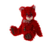 "Charlie Bears Isabelle Lee Limited Edition Jackpot 15.5"" Mohair Bear"