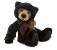 "Charlie Bears Collectable Anniversary Seth 15"" Plush Bear"