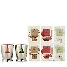 Price's Candles 36 Christmas Tea-lights & 2 Christmas Holders