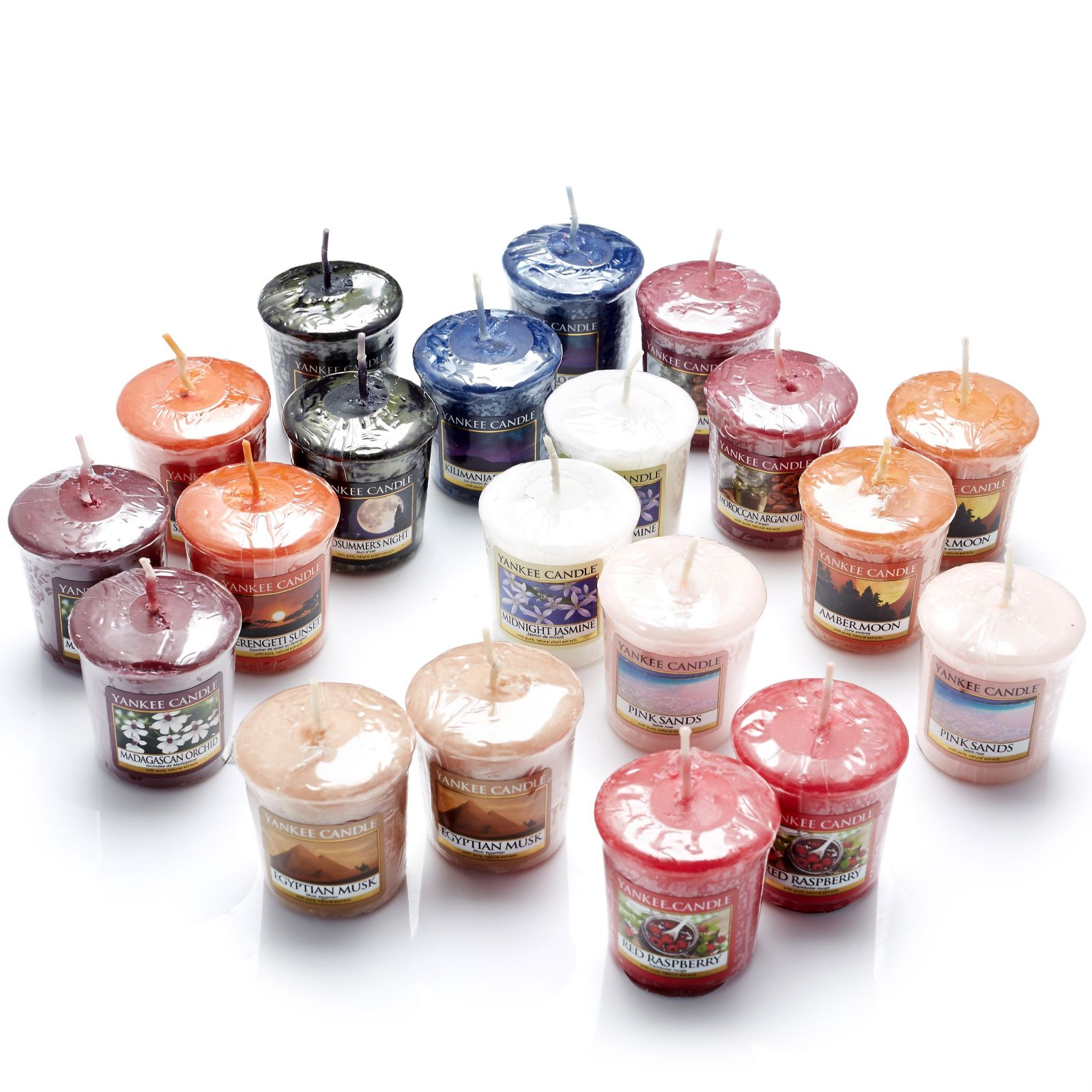 Yankee Candle 20 Piece Assorted Votive Collection