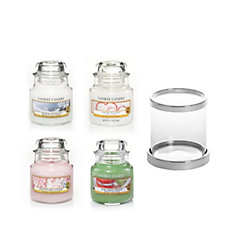 Yankee Candle The Perfect Christmas Small Jar Holder & 4 Small Jars