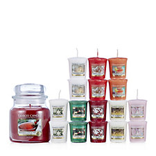 Yankee Candle 17 Piece Get Ready for Christmas Votive Collection