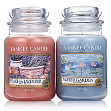 Yankee Candle Set of 2 USA Special Spring Holiday Large Jars