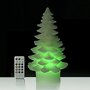 Christmas Tree Led Candle With Remote Control