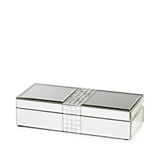 JM by Julien Macdonald Signature Studded Crystal Trinket Box