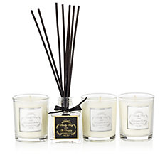 Sandy Bay Set of 3 Best Candles with 1x 50ml Reed Diffuser