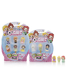 Disney Princess Ooshie 14 Piece Bundle Collection